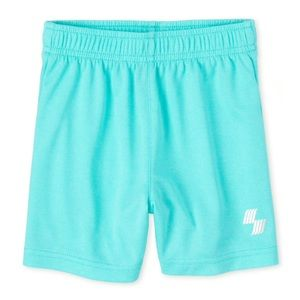 NWT Children's Place Sea Blue Basketball Shorts 3T